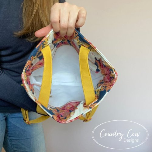Cornish Backpack Lining by Country Cow Designs