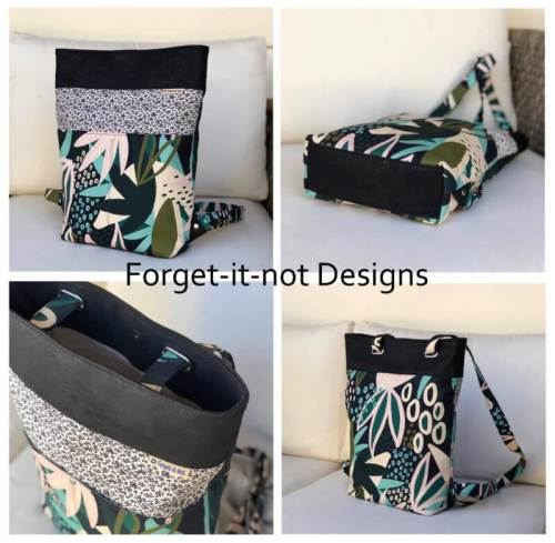 Cornish Backpack Made by Forget It Not Designs
