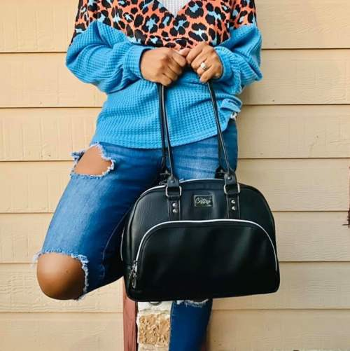 Vekza Bowler Bag - Made by Castine Handcrafted