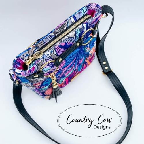 Momexa Crossbody Bag by Country Cow Designs