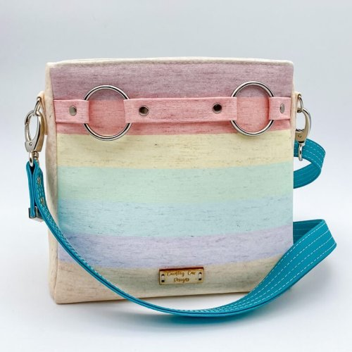 Pastel Stripes Momexa by Country Cow Designs