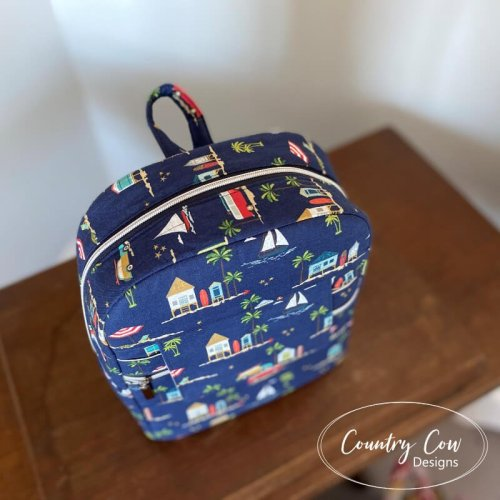 Trekoda Mini Backpack Made by Country Cow Designs
