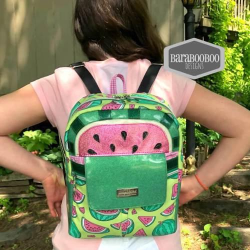 Boxy Top Trekoda Mini Backpack Made by Barabooboo Designs