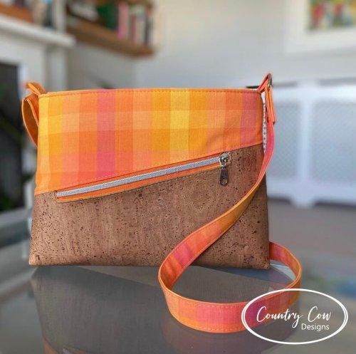 Orange & Cork Vordenza Made by Country Cow Designs