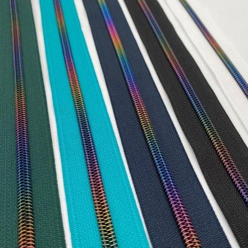 Rainbow Zipper Tapes