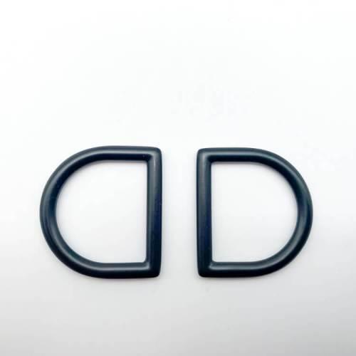 Matte Black D-Rings