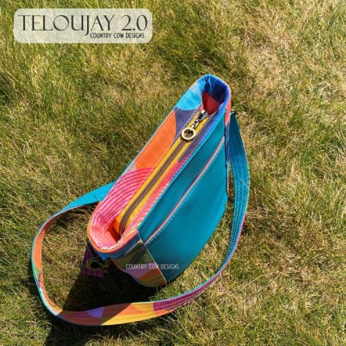 Teloujay 2.0 made by Country Cow Designs - Top View