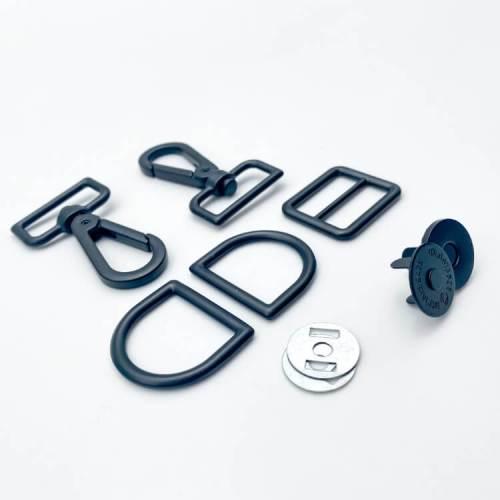 Matte Black Teluojay 2 Hardware Kit