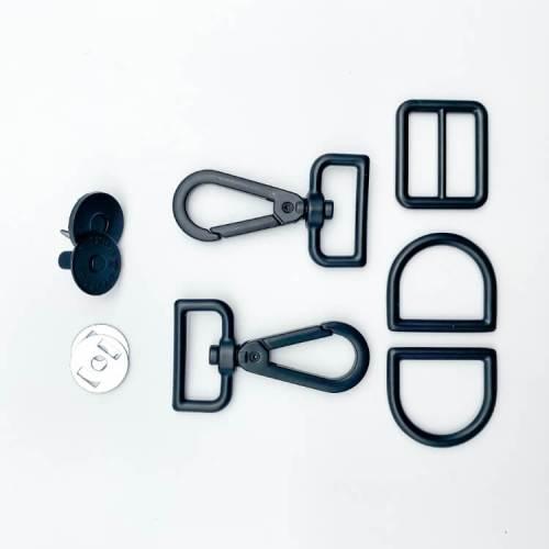 Matte Black Hardware Kit for Teloujay 2