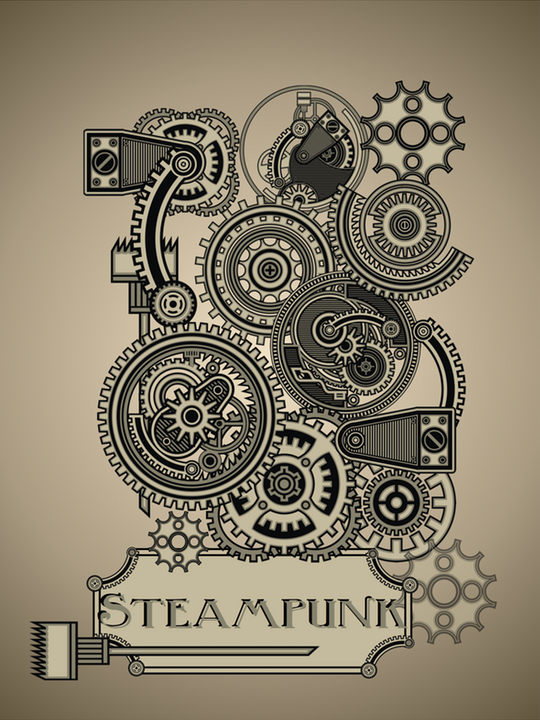 Steampunk Design Country Design Style