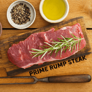 Prime Rump Steak