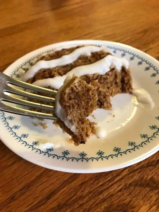 Soft Ginger Snap Muffin in a Bowl (THM-S)