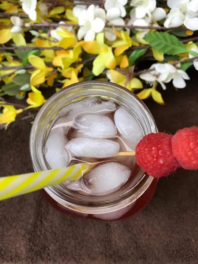 Iced Raspberry Oolong Tea (Sugar Free, THM-FP)