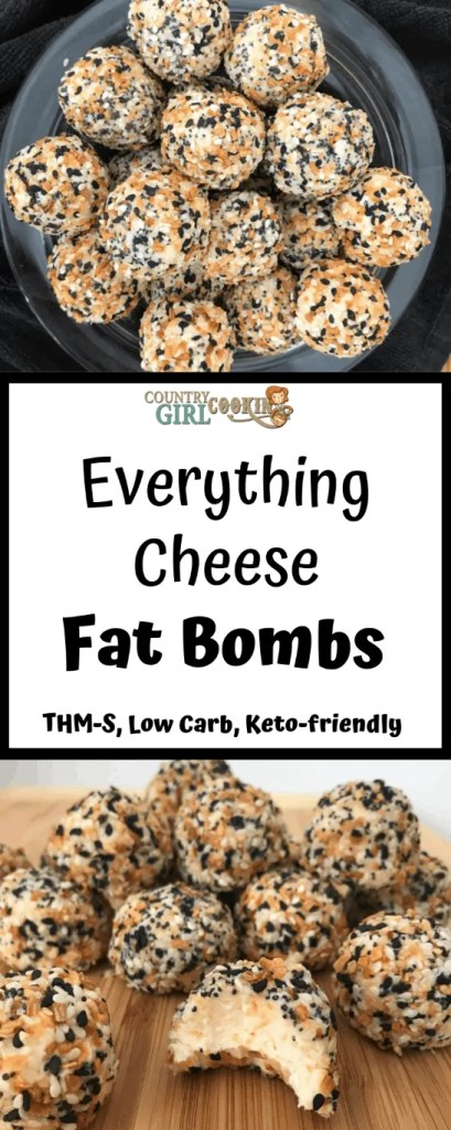 Everything Cheese Fat Bombs (THM-S, Low Carb, Keto Friendly)