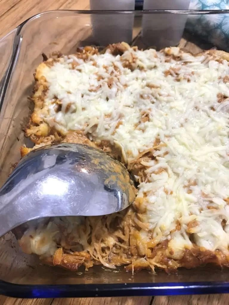 Smoked Paprika Chicken Casserole (THM-S, Low Carb)