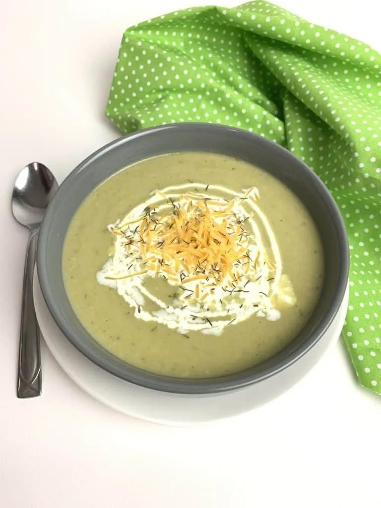Instant Pot Creamy Broccoli Soup (Low Carb, THM-S)