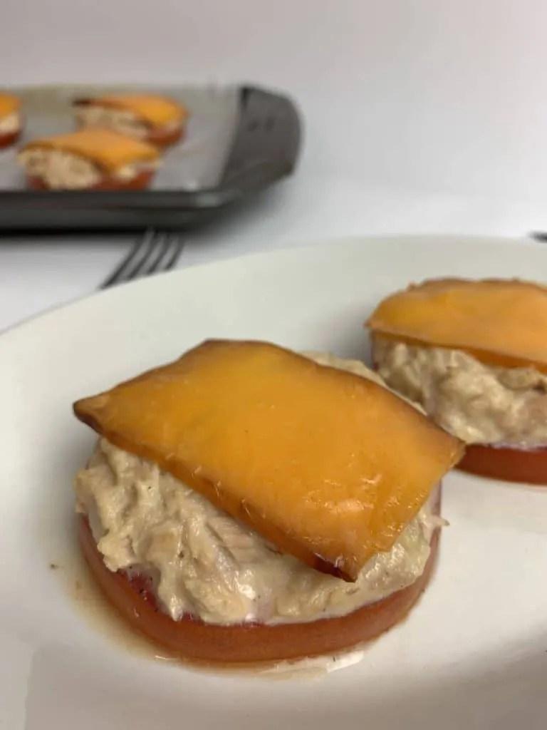 Tomato Tuna Melt (THM-S, Low Carb)