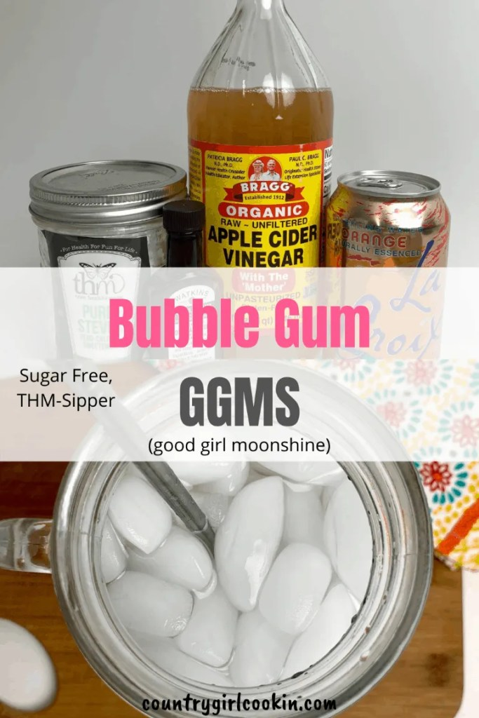 Bubble Gum Good Girl Moonshine (THM Sipper, Sugar Free)