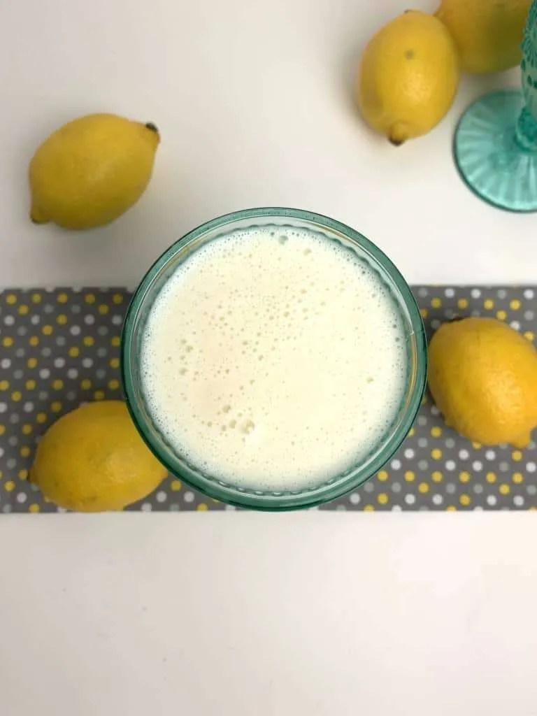 Low Carb Lemon Smoothie (THM-Fuel Pull, Sugar Free)
