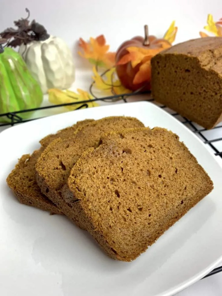 Sprouted Wheat Pumpkin Bread (THM-E)