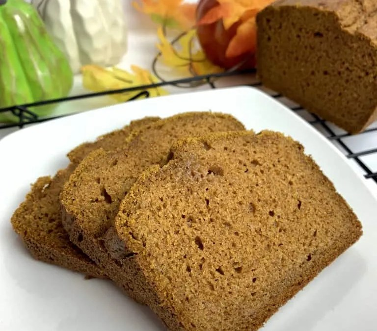 Sprouted Wheat Pumpkin Bread