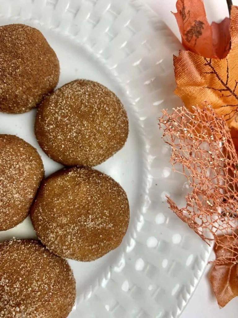 Pumpkin Spice Truffles (Low Carb, Sugar Free, THM-FP)