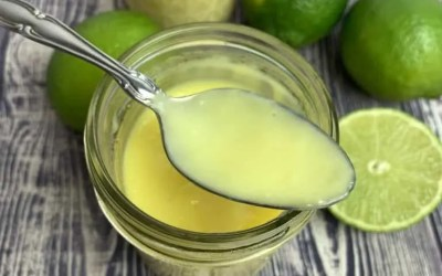 Instant Pot Lime Curd