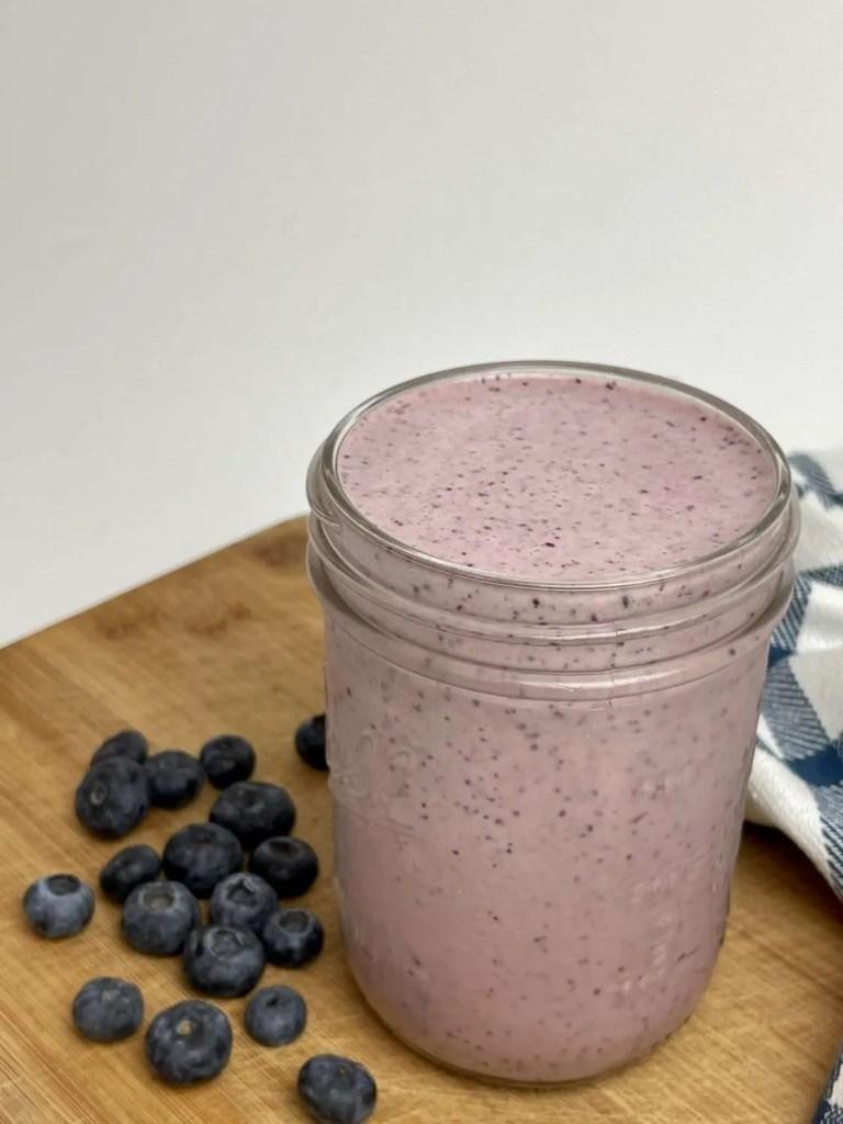 Cherry Blueberry Smoothie (Sugar Free, TH-E)