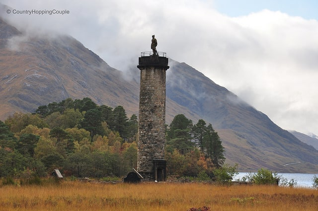 Monument Monday: Glennfinnan, Scotland