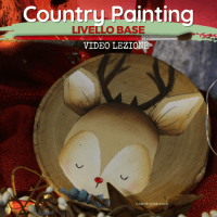 Renna - Video Lezione di Country Painting