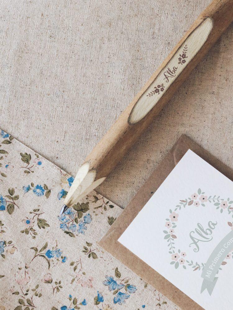 lapiceros de madera personalizados