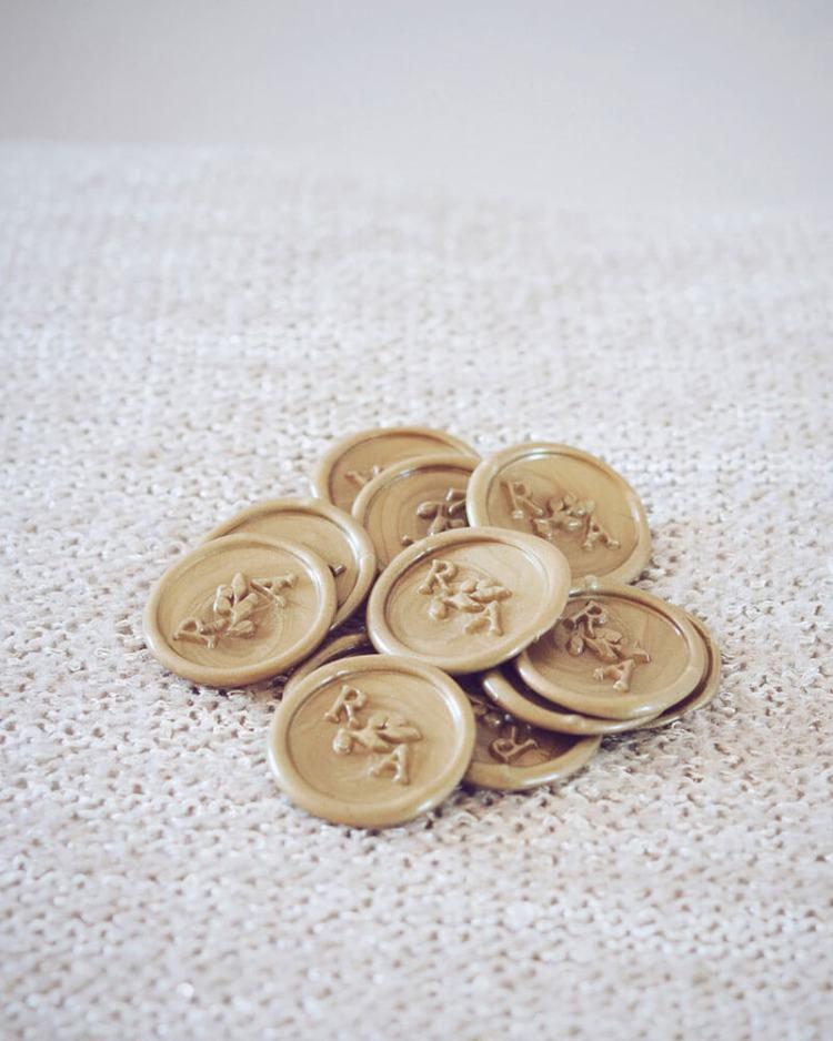 sellos de lacre medallones