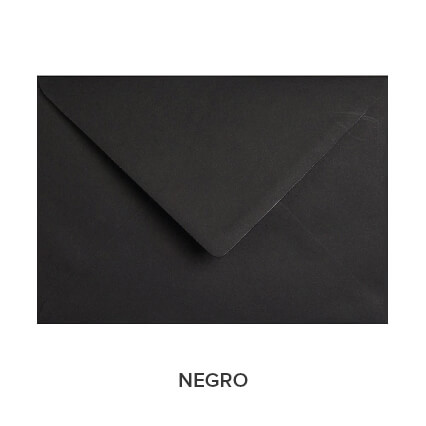 sobres de colores económicos negro