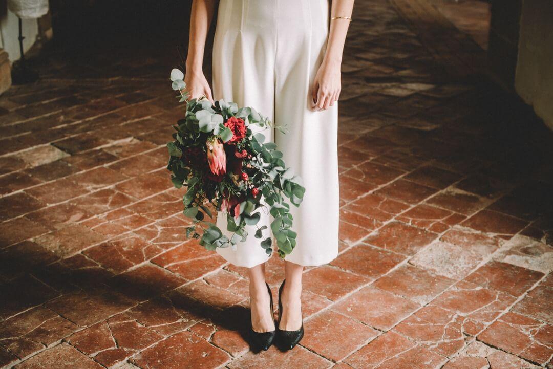 Ramo de flores boda campestre