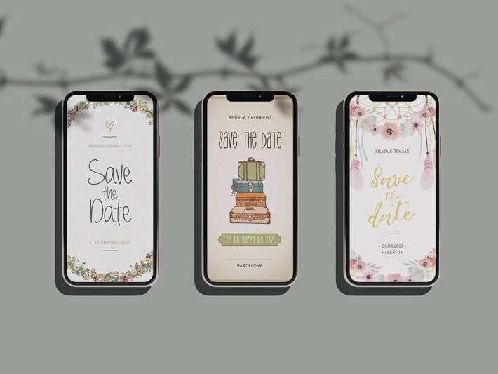 save the date digital boda