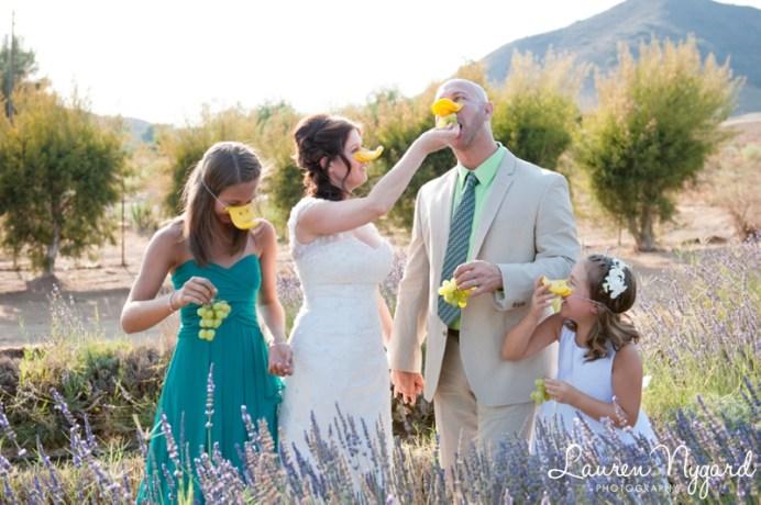 A Lavender Farm Wedding