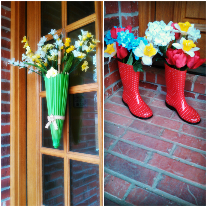 April Showers Bring May Flowers Decor