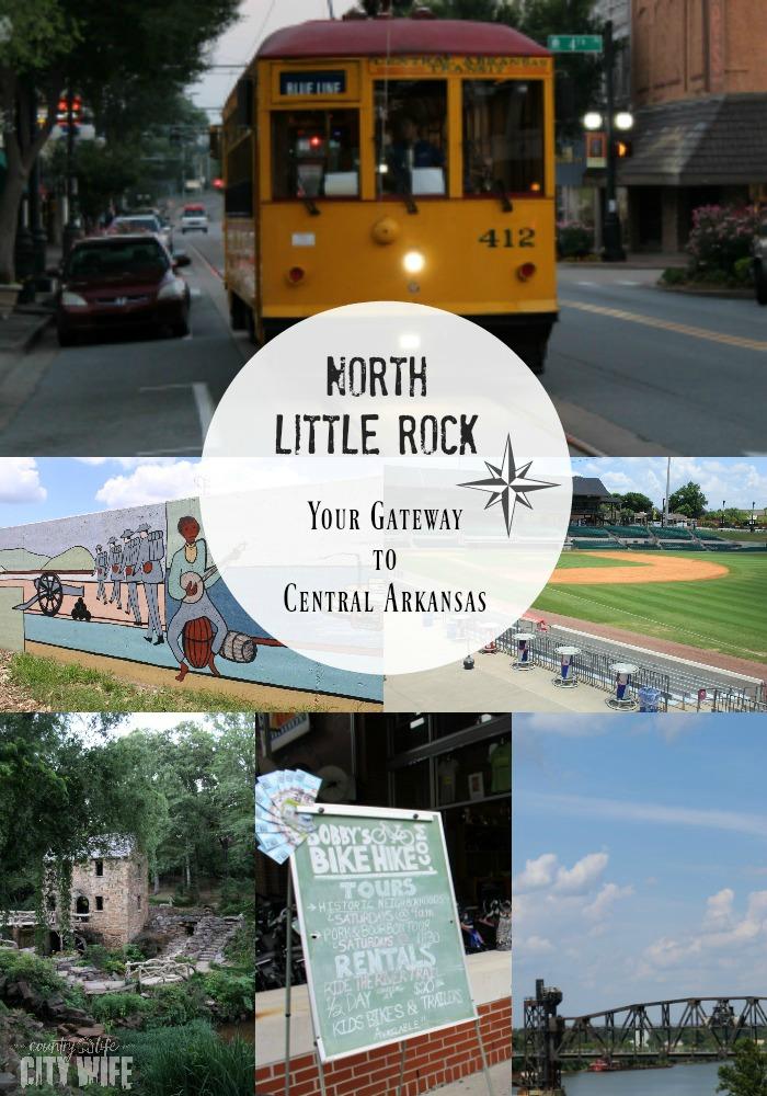 North Little Rock Gateway to Central Arkansas