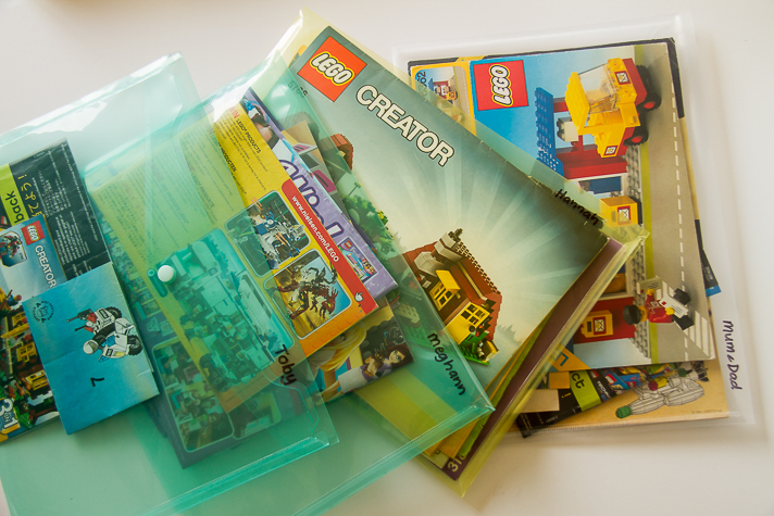 How To Store Lego Instruction Booklets Country Life Experiment