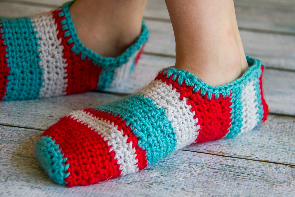 Crochet Slippers-4