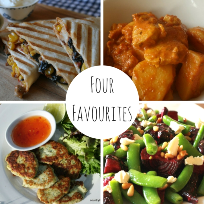 Four Favourites - Easy Spring Meals