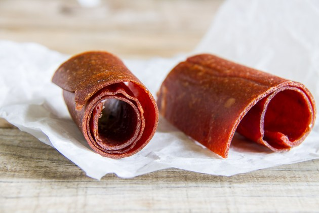 Home Made Fruit Rollups
