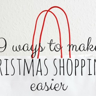 9 Ways To Make Christmas Shopping Easier