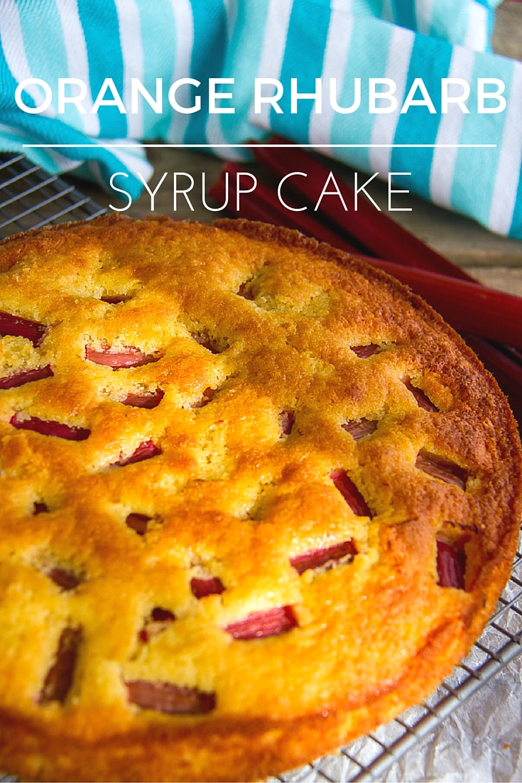 Orange Rhubarb Syrup Cake (1)