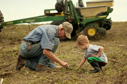 Honorable Mention - The Farmer's Life, 2013 Focus on MO Agriculture Photo Contest.