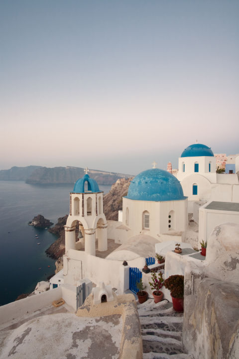 Oia, Santorini, Greece is one of the most beautiful place in the world.