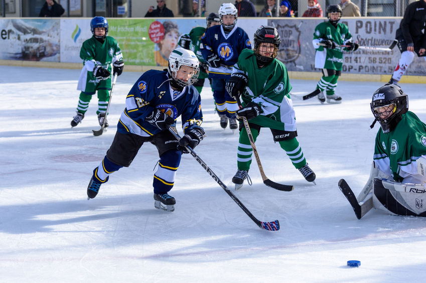 Country Mile Hockey Sporting Event