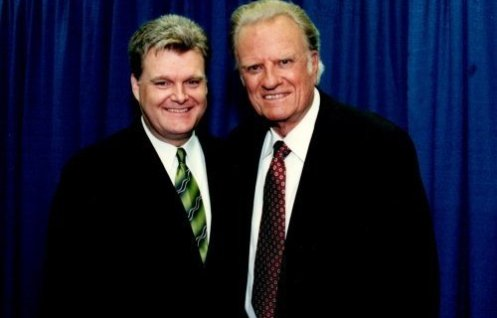Ricky Skaggs and Billy Graham