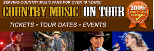 Concert Tickets on Country Music On Tour