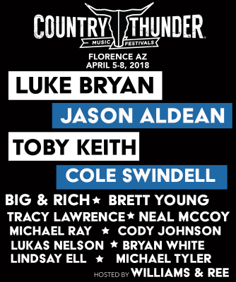 2018 Country Thunder on Country Music News Blog